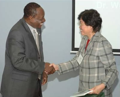 President Reid and Vice-Minister of Education Wu Qidi