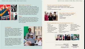 Undergraduate Degree Information Sheet